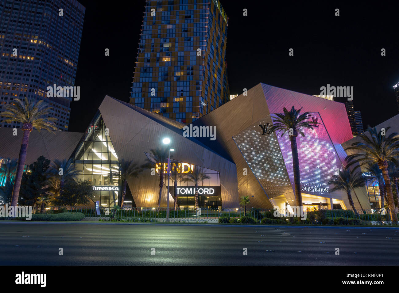 Cool The Tom Ford Las Vegas Designer Boutique Store At Night The Download Free Architecture Designs Scobabritishbridgeorg