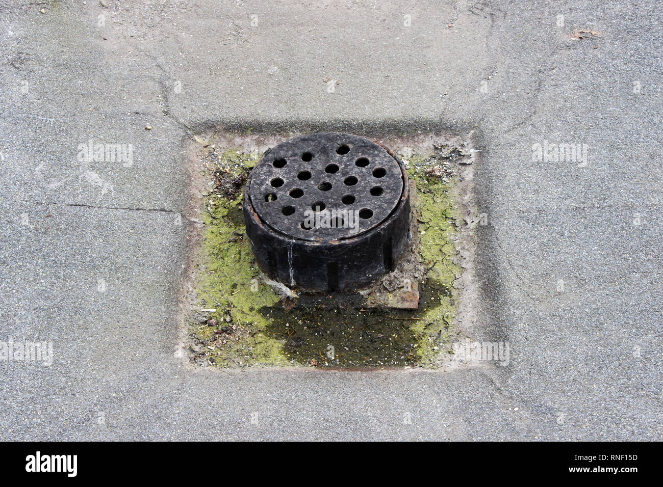 Flat Roof Drain Stock Photos & Flat Roof Drain Stock Images