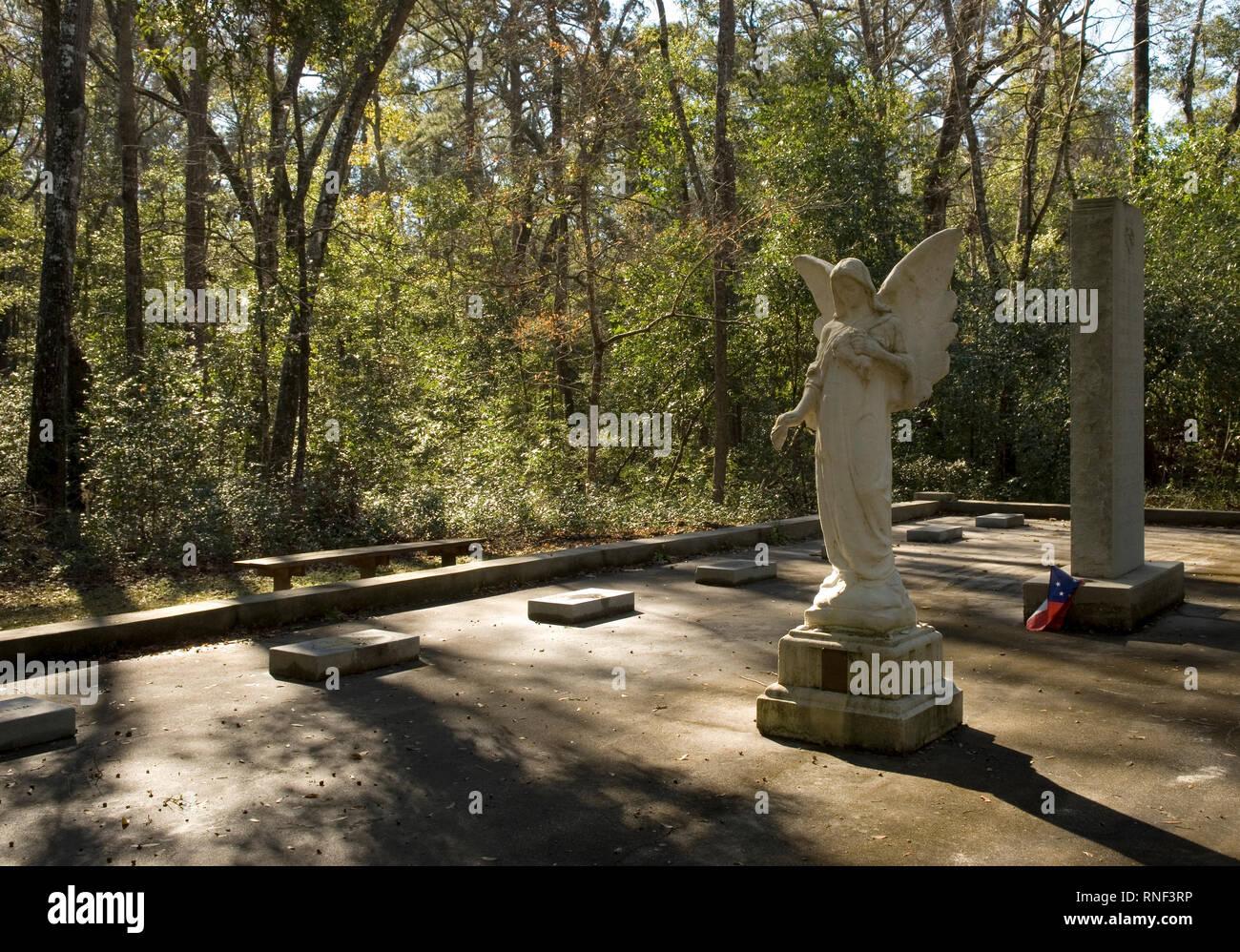 Vereen Memorial Historical Gardens Little River, South Carolina USA. Stock Photo