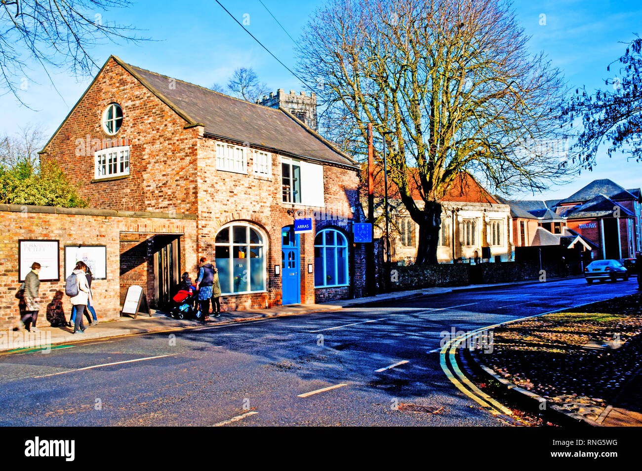 Peasholme Green, York, England - Stock Image