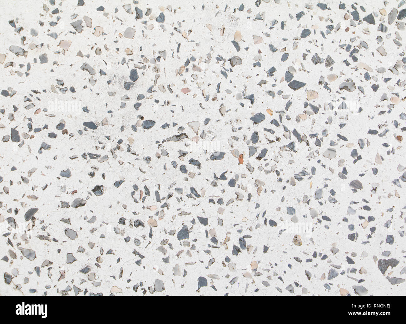 Terrazzo Flooring Old Texture Or Polished Stone Background