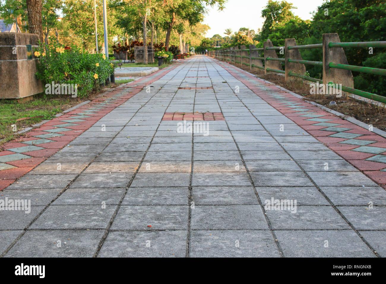 Blue Cement Coloring Walkways | www.tollebild.com