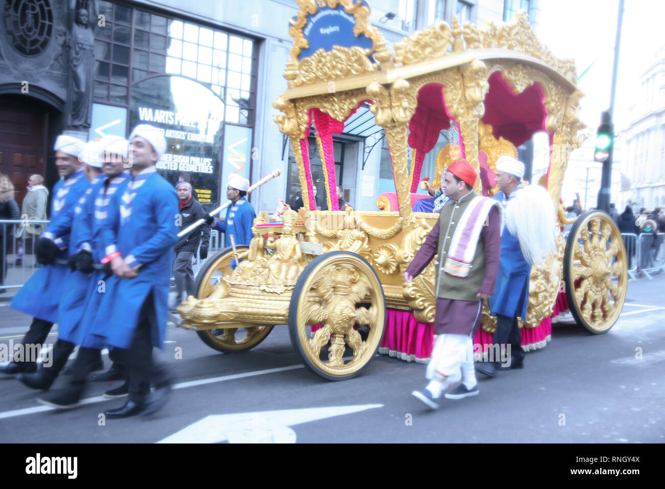 England, London, Westminster, Piccadilly, New Years Day Parade 2019. - Stock Image