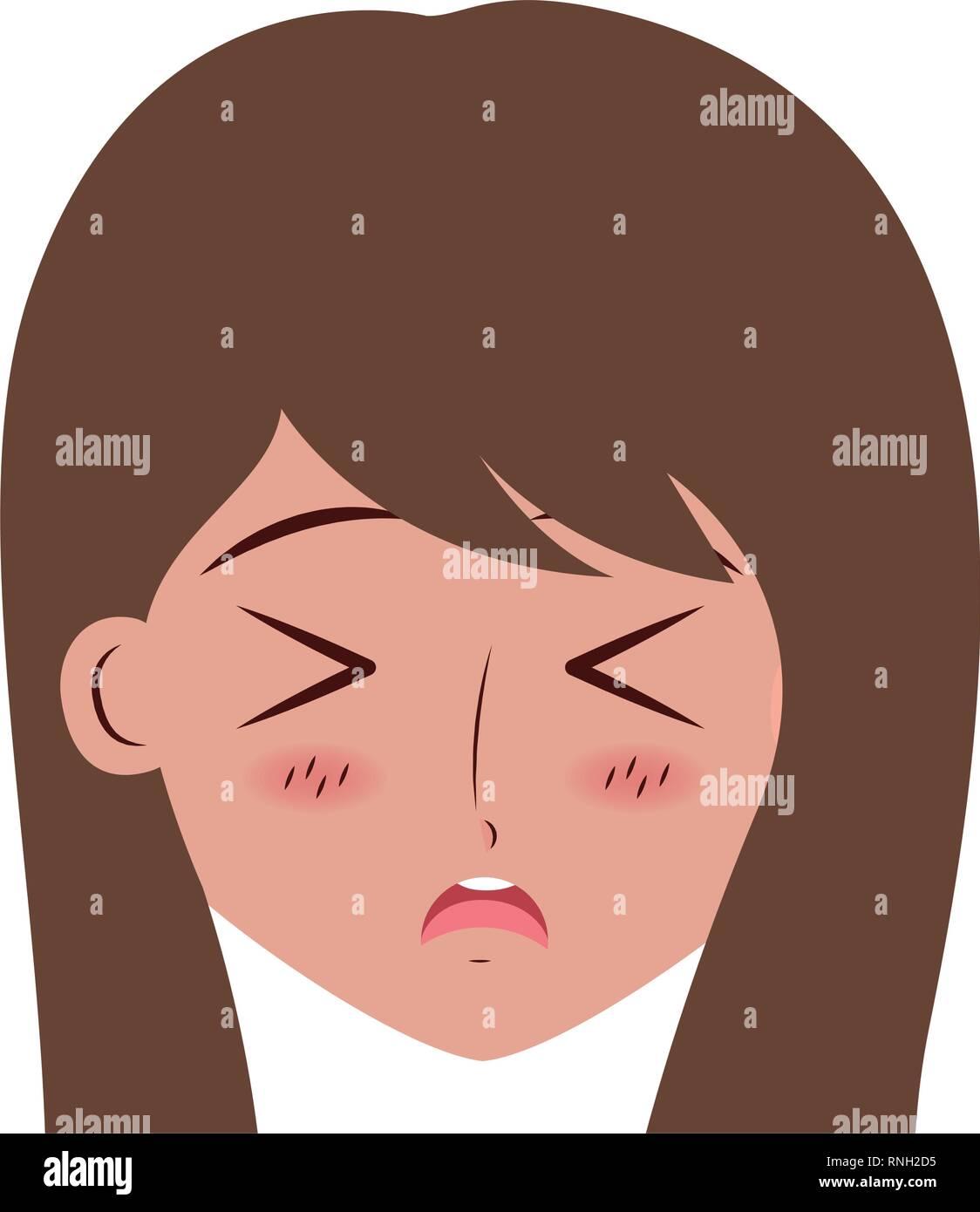 Sad Cartoon Face Stock Photos Sad Cartoon Face Stock Images Alamy
