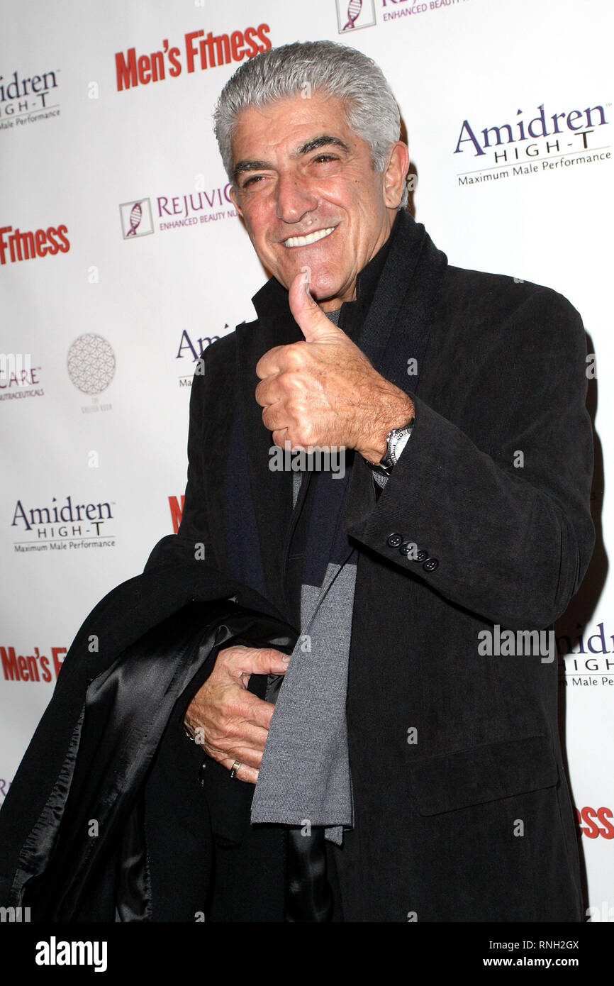 New York, USA. 08 Nov, 2010. Frank Vincent at The Monday, Nov 8, 2010 Release Of Amidren By Scott Disick at The Chelsea Room in New York, USA. Credit: Steve Mack/S.D. Mack Pictures/Alamy Stock Photo