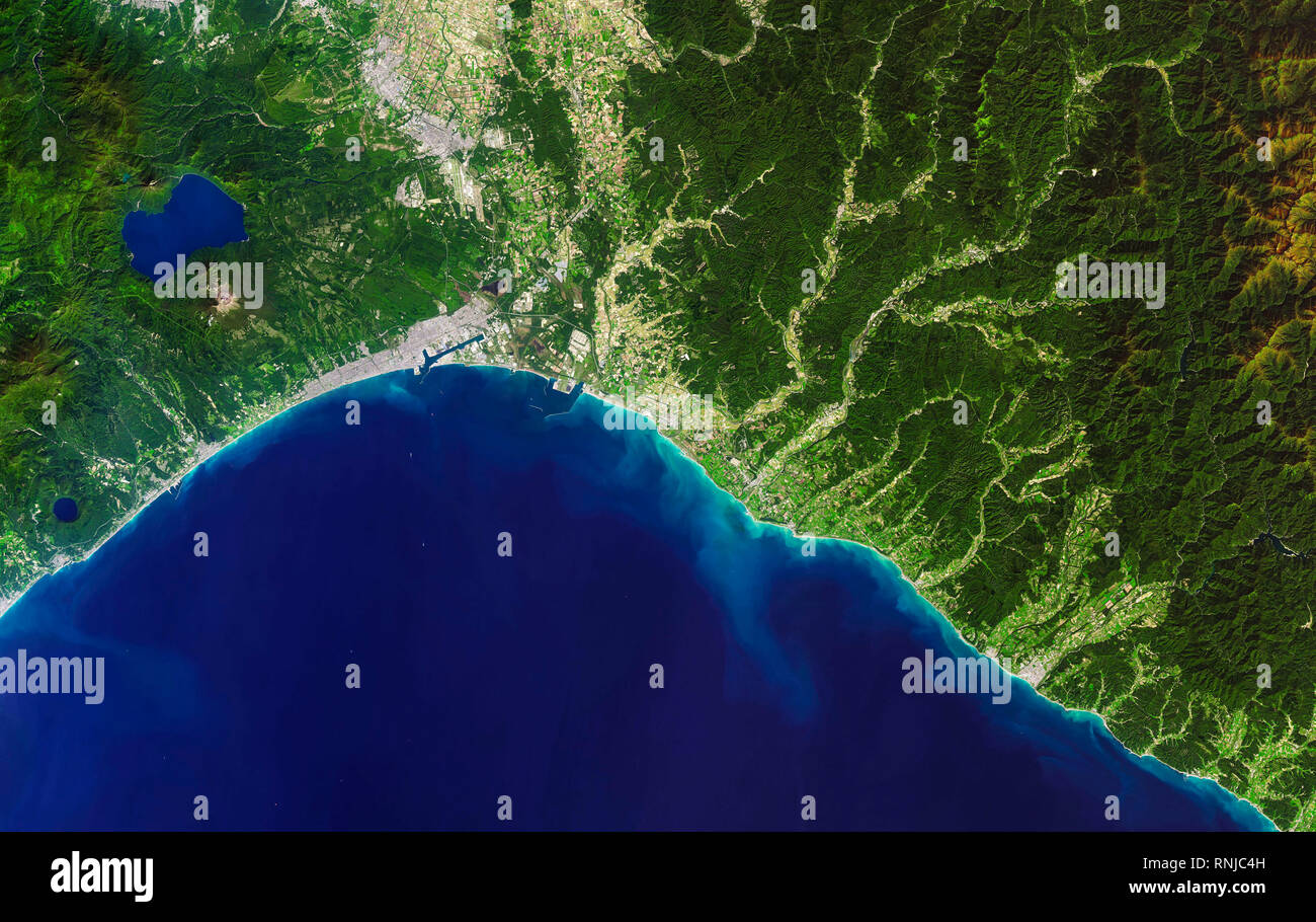 Aerial Map Of Japan.Aerial View Japan Geography Stock Photos Aerial View Japan