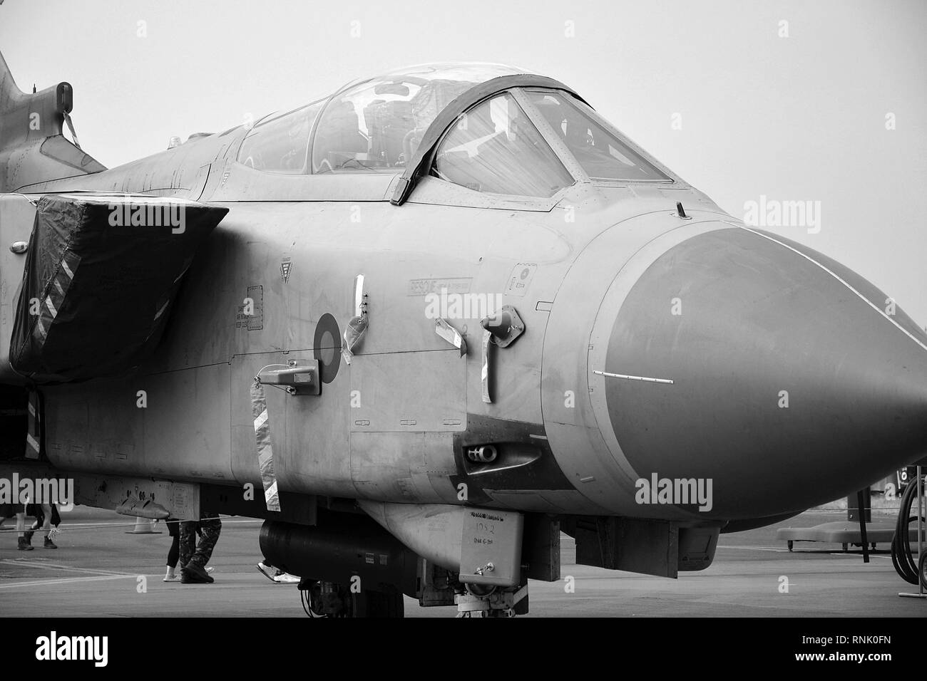 Panavia Tornado GR4, Jet fighter - Stock Image