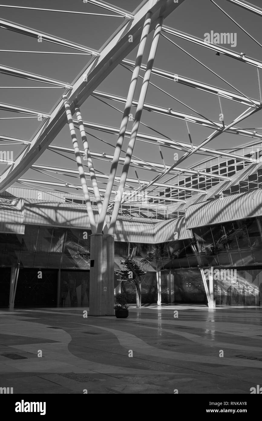Trade Fair and Congress Center of Malaga (Palacio de ferias y congresos). Spain. Stock Photo