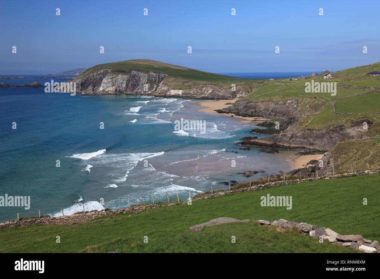 wild atlantic way, dingle peninsula, county kerry, ireland - Stock Image