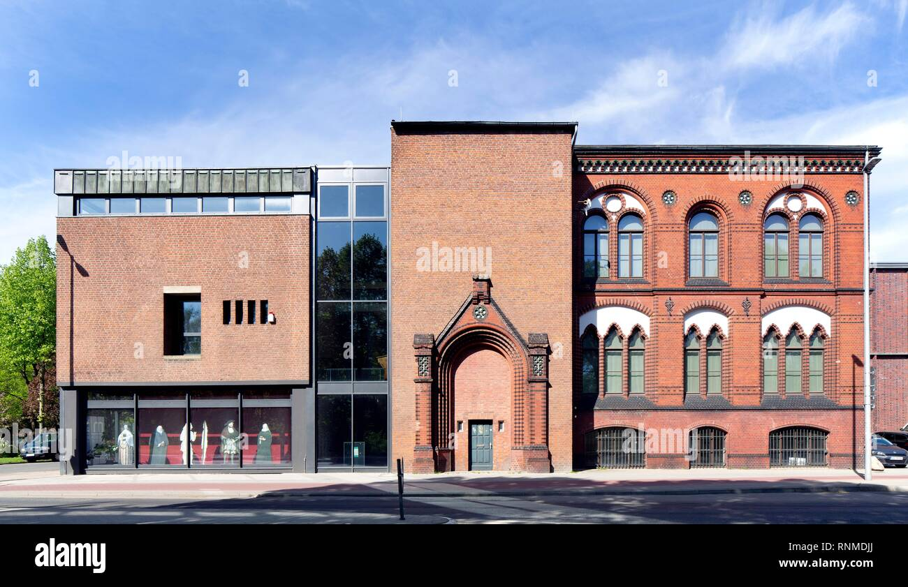 Museum Lüneburg, Museum of Natural History, Cultural History and Archaeology, Lüneburg, Lower Saxony, Germany - Stock Image