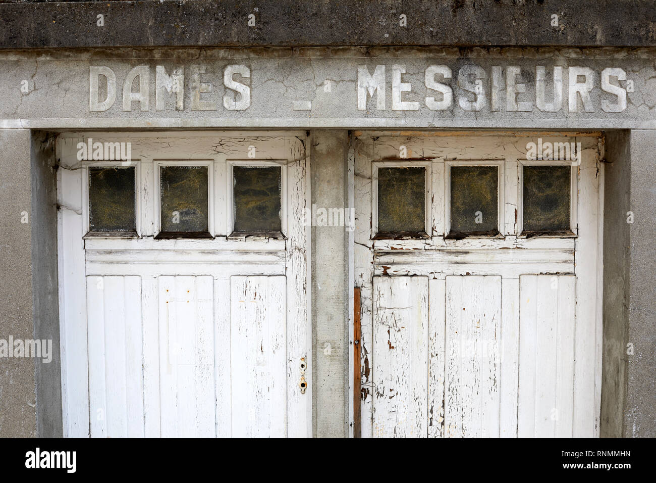 French toilette - Stock Image