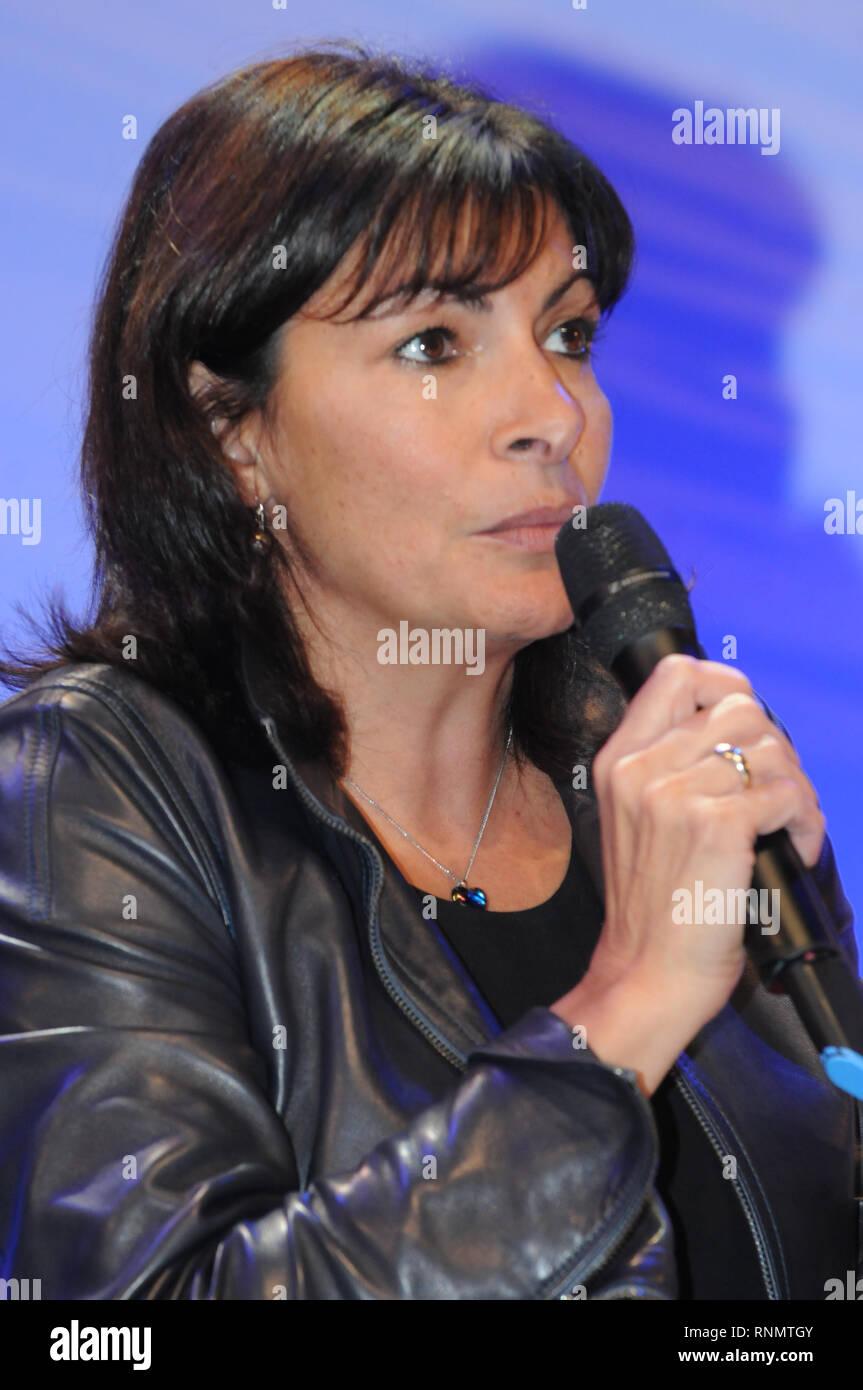 Anne Hidalgo, Mayor of Paris, France Stock Photo