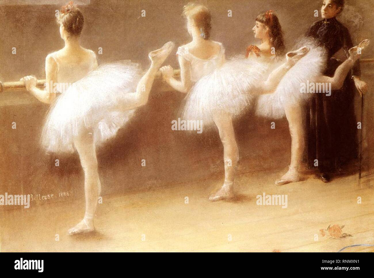 Carrier Belleuse Pierre At The Barre. Stock Photo