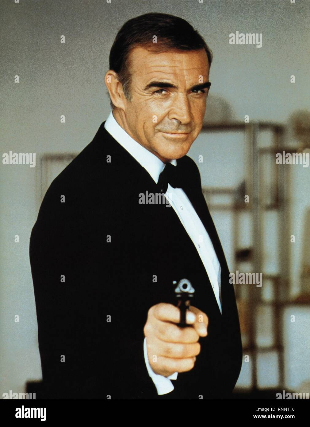 NEVER SAY NEVER AGAIN, SEAN CONNERY, 1983 - Stock Image