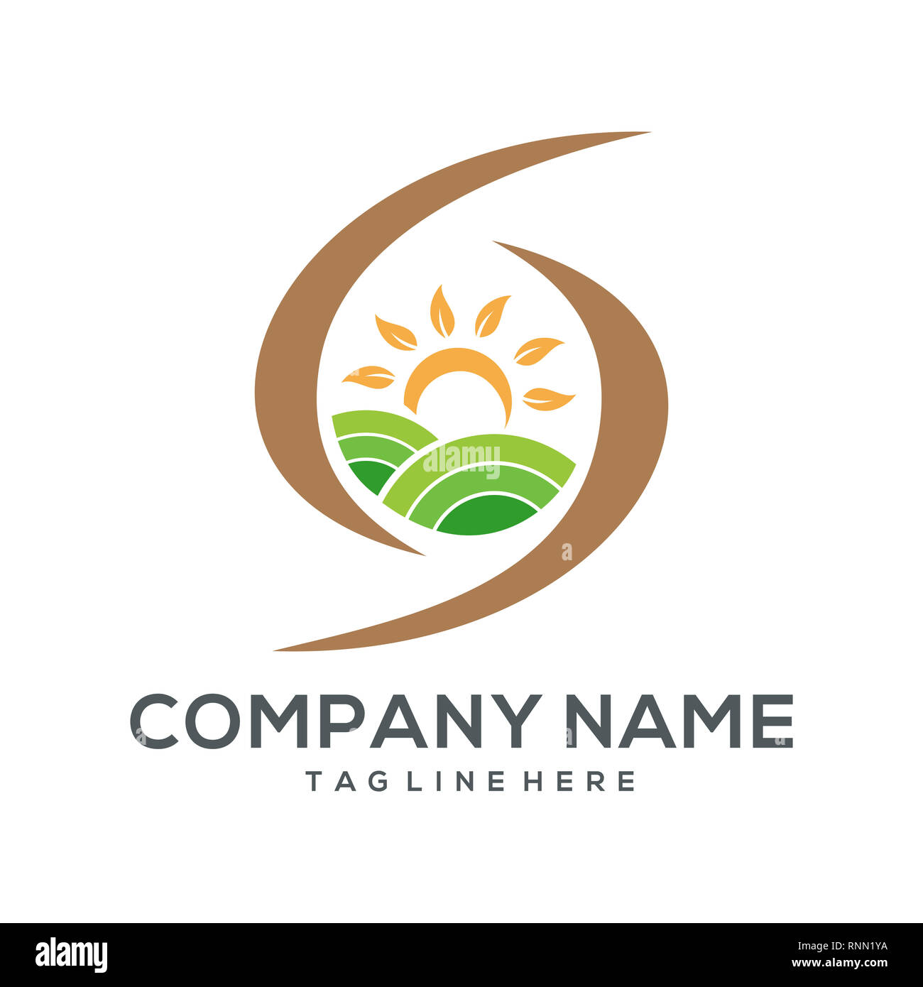 Agriculture Logo Stock Photos & Agriculture Logo Stock