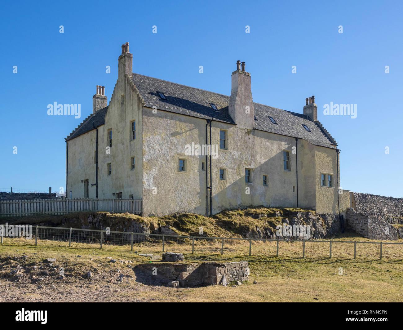 Balnakeil House, Balnakeil Bay near Durness, Sutherland, Scotland - Stock Image