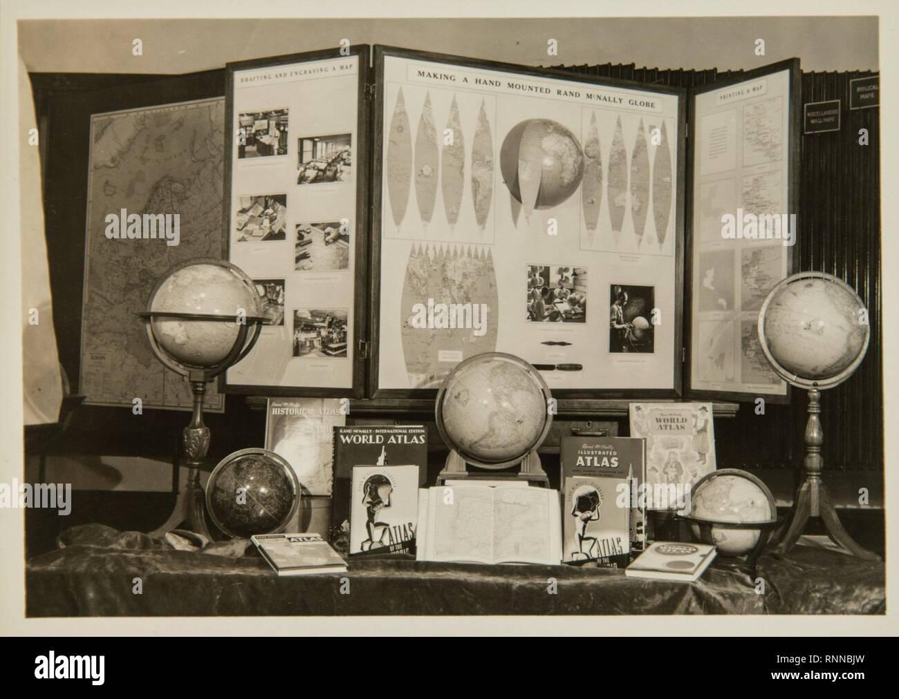 Cartographic Publishing - Displays - Stock Image