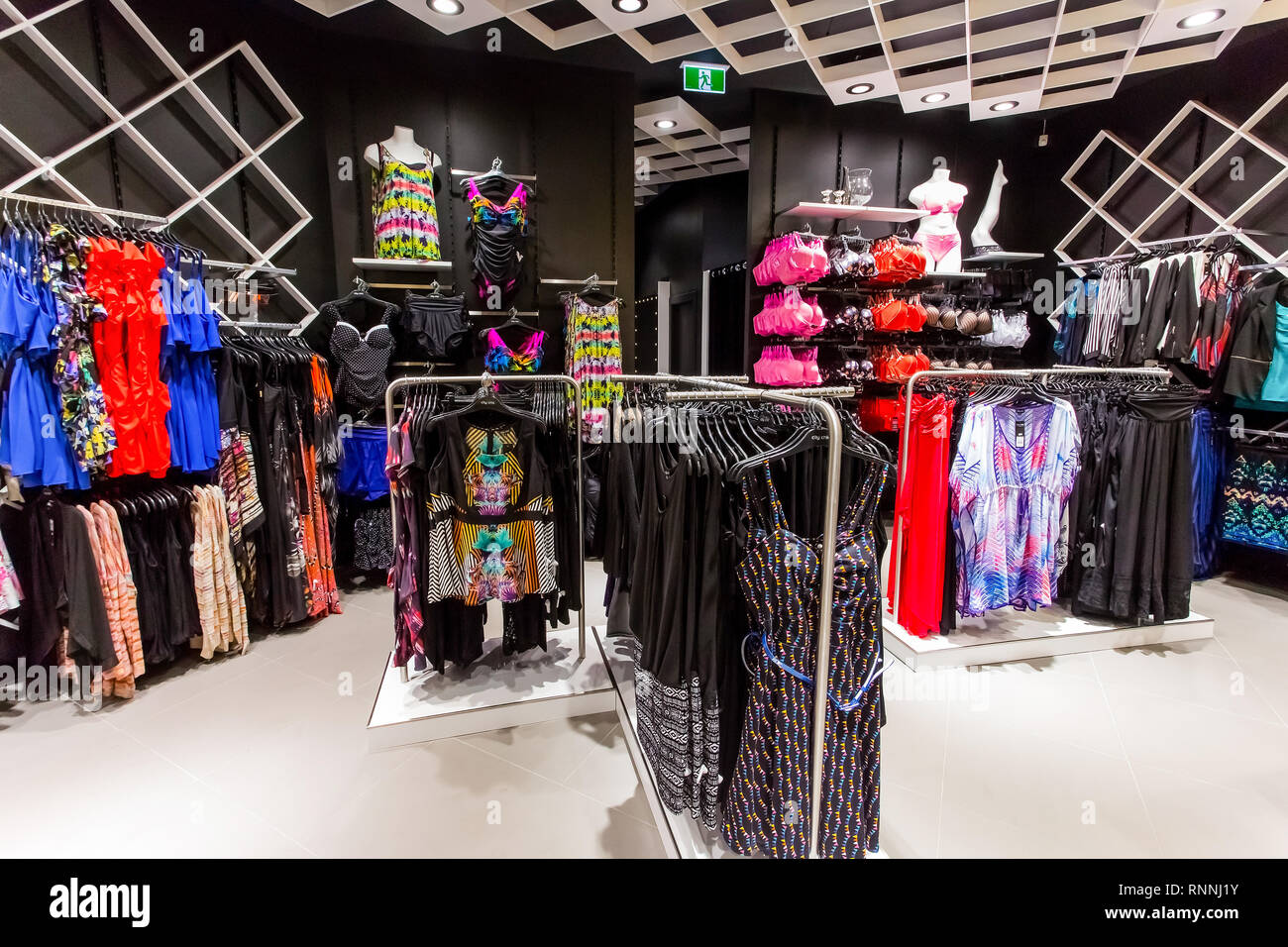 ec0ef6eb0422 Johannesburg, South Africa - October 09 2013: Plus Size Clothing Store City  Chic at Sandton City