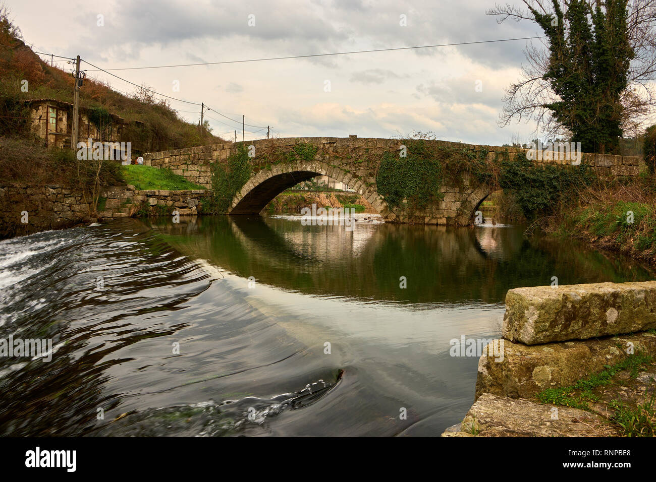 Ponte do Arco, Vila Fria Felgueiras north of Portugal - Stock Image