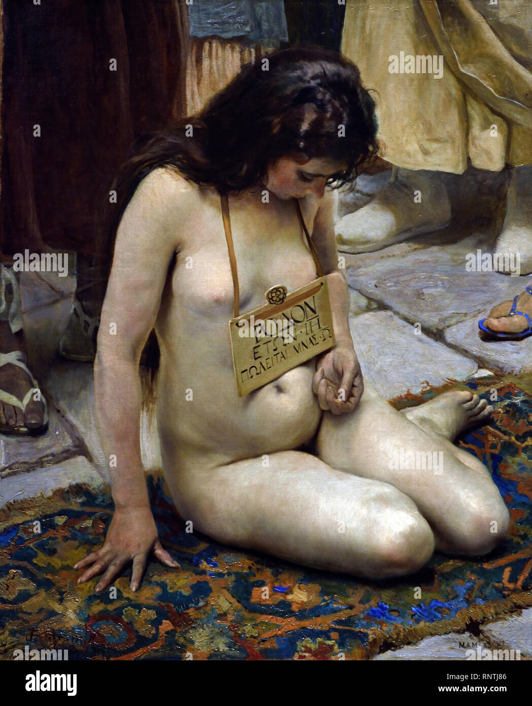 Slave Girl Photo