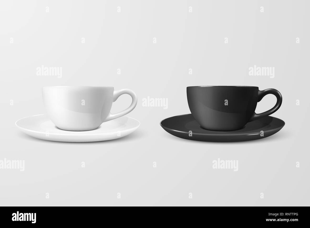 realistic vector 3d blank white and black coffee tea cup mug icon closeup isolated on white background design template of porcelain cup or mug and stock vector image art alamy https www alamy com realistic vector 3d blank white and black coffee tea cup mug icon closeup isolated on white background design template of porcelain cup or mug and image237188856 html