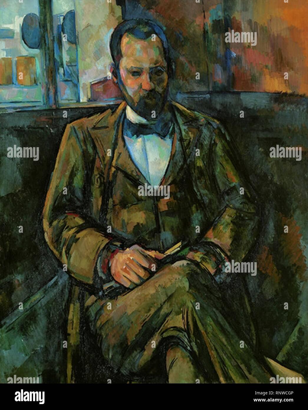 Cezanne Ambroise Vollard. - Stock Image