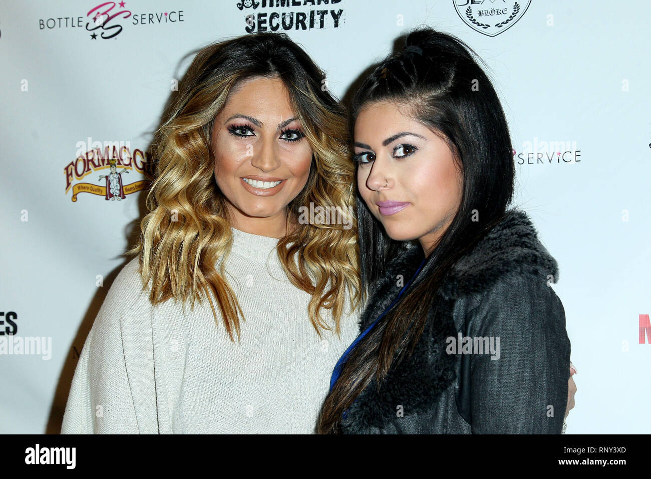 Tracy Dimarco And Guest High Resolution Stock Photography and ...