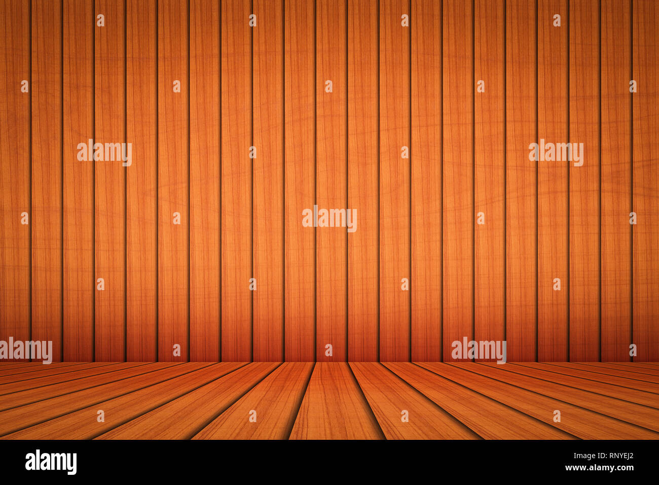 Natural wooden table texture background - Stock Image