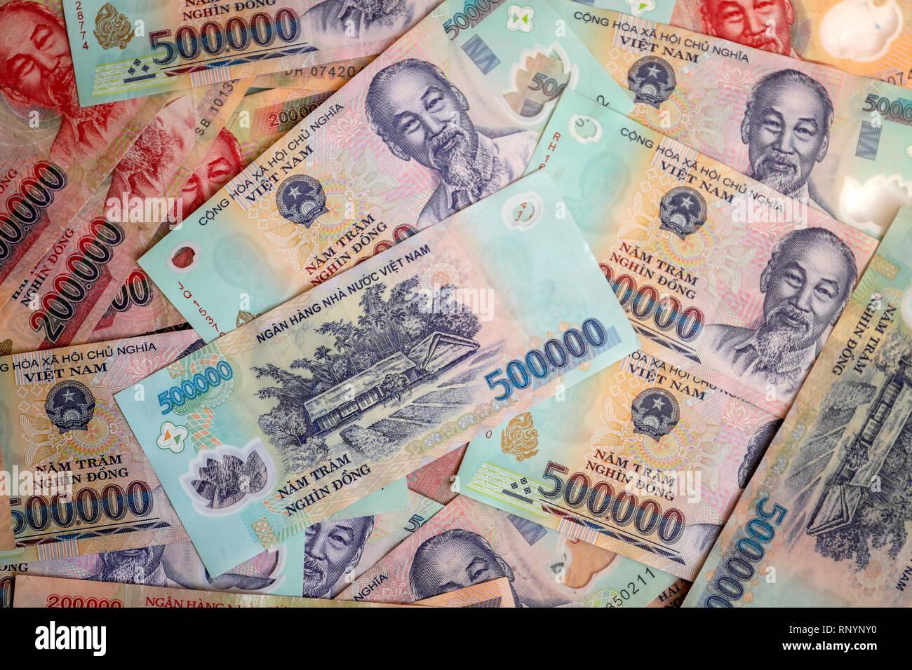 Vietnam Dong Money Stock Photos & Vietnam Dong Money Stock Images