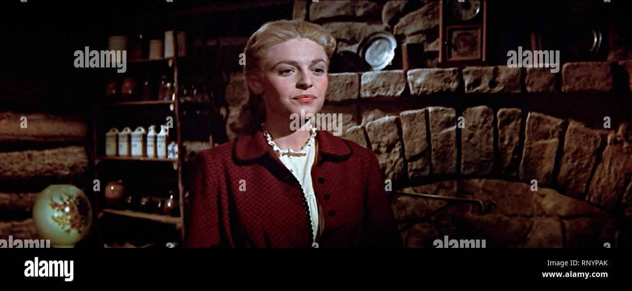 Prod DB © Columbia Pictures Corporation / DR LA CHARGE DES TUNIQUES BLEUES THE LAST FRONTIER de Anthony Mann 1955 USA Anne Bancroft. western;  d'apres - Stock Image