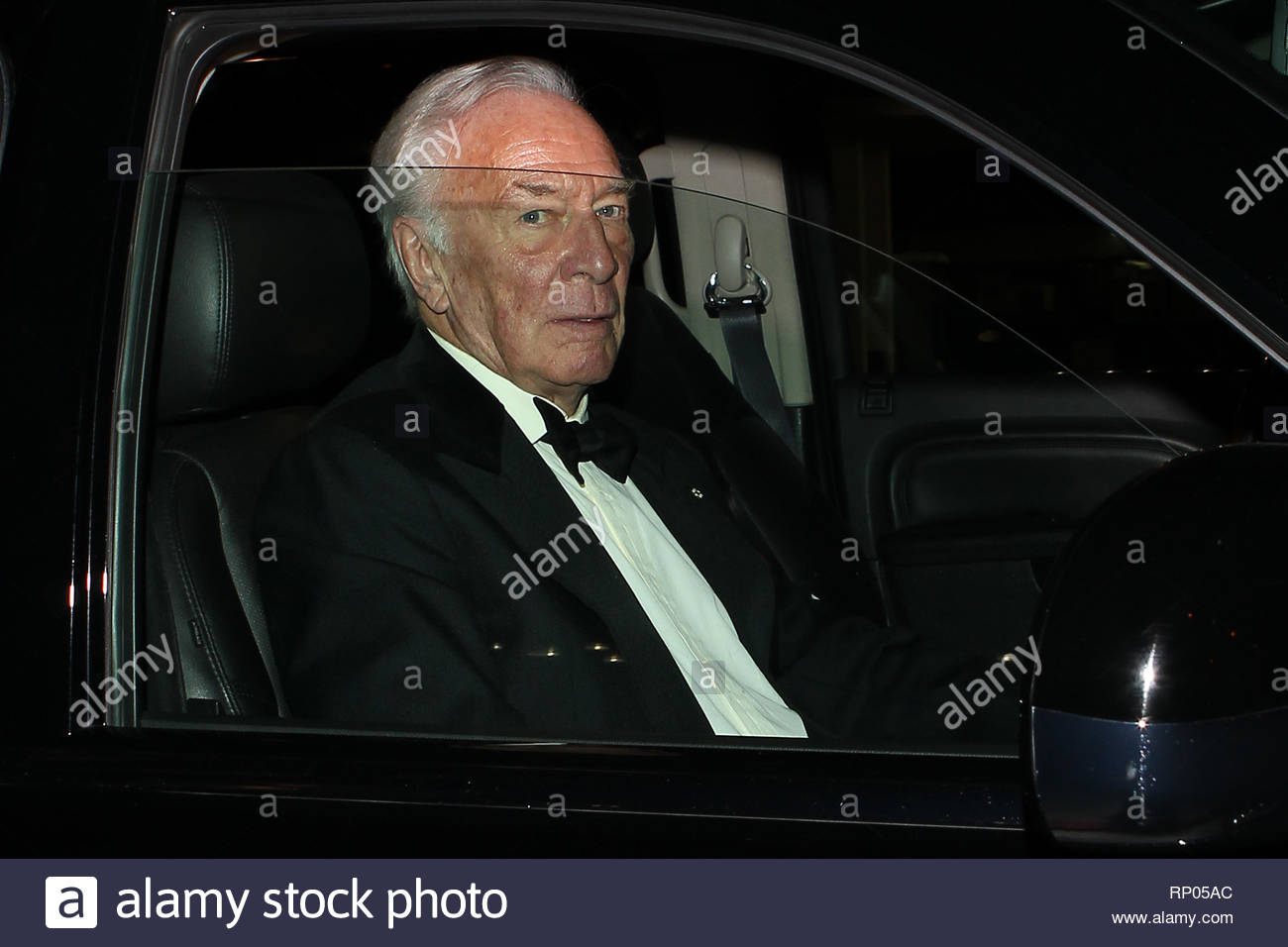 EXCLUSIVE* West Hollywood, CA - Christopher Plummer greets