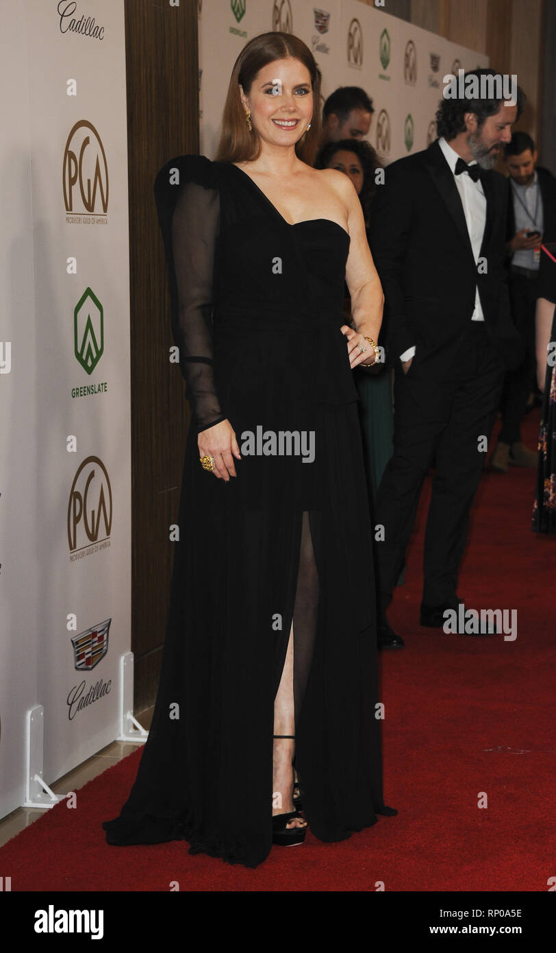 The 2019 PGA Awards Featuring: Amy Adams Where: Los Angeles