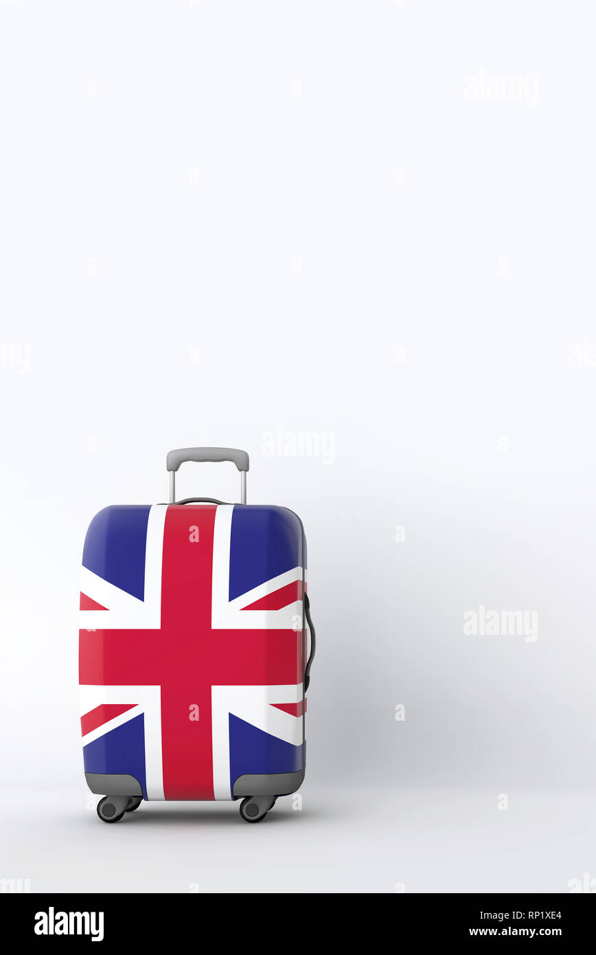 Union Jack Flag Luggage Tags Bag Travel Labels For Baggage Suitcase