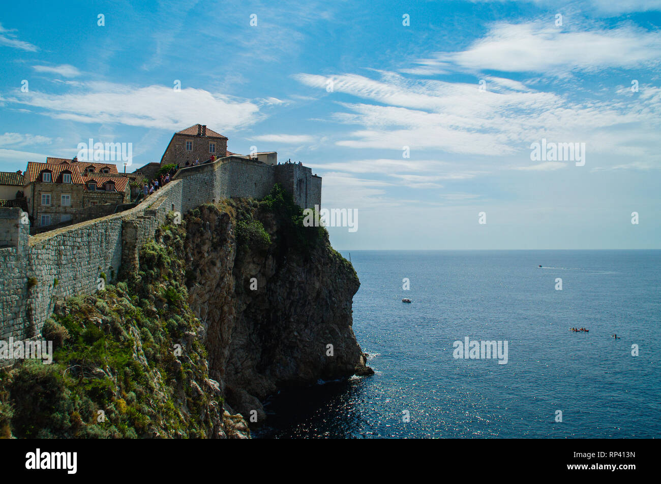 City of Dubrovnic Stock Photo