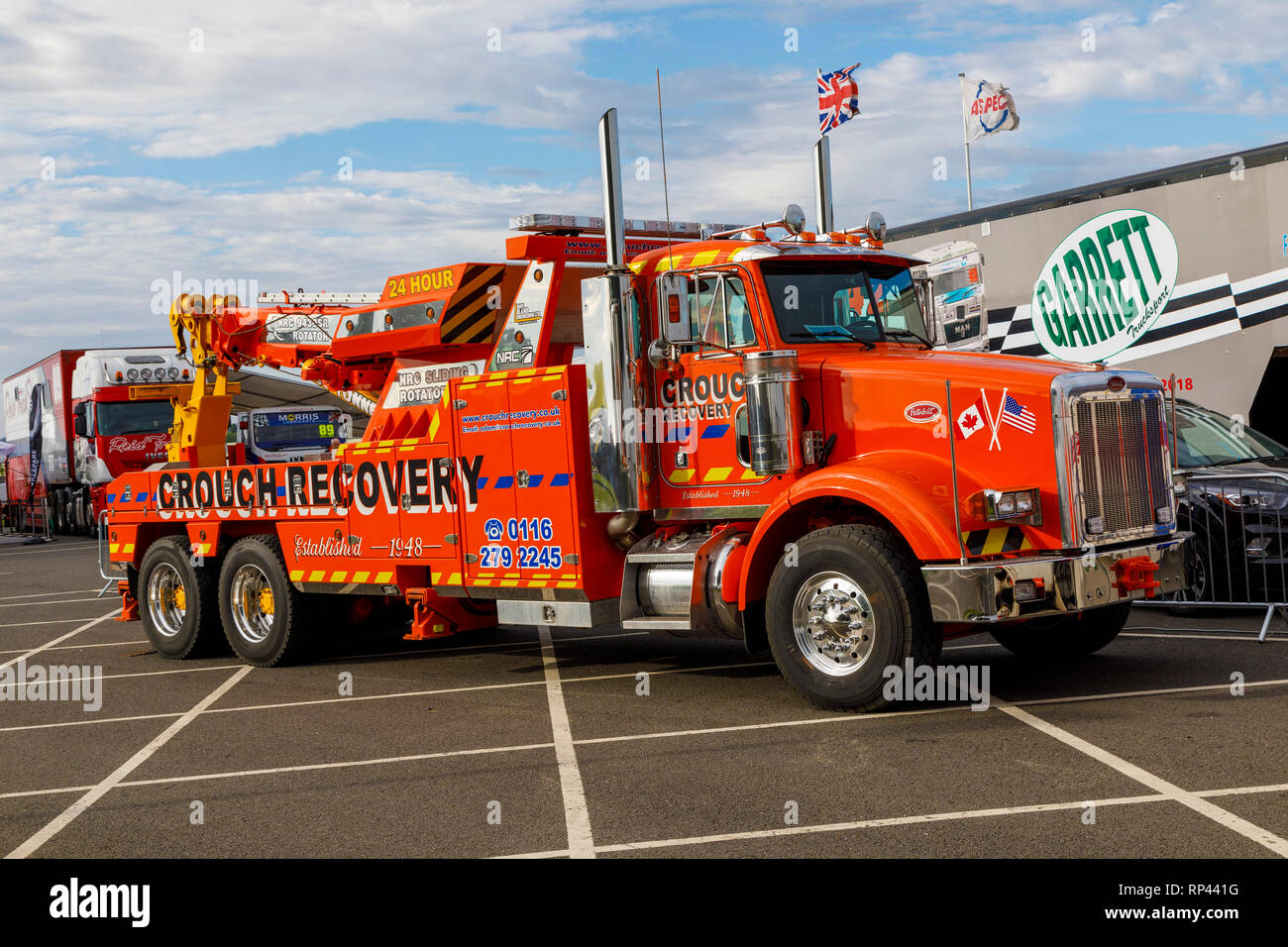 Recovery Truck Stock Photos & Recovery Truck Stock Images