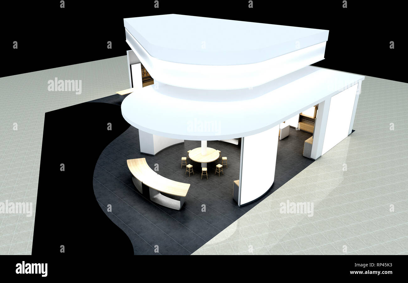 Exhibition Stand Sketch : Importance of right exhibition stand design ideas