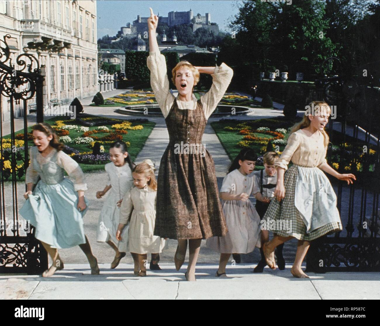 ANDREWS,CHILDREN, THE SOUND OF MUSIC, 1965 Stock Photo