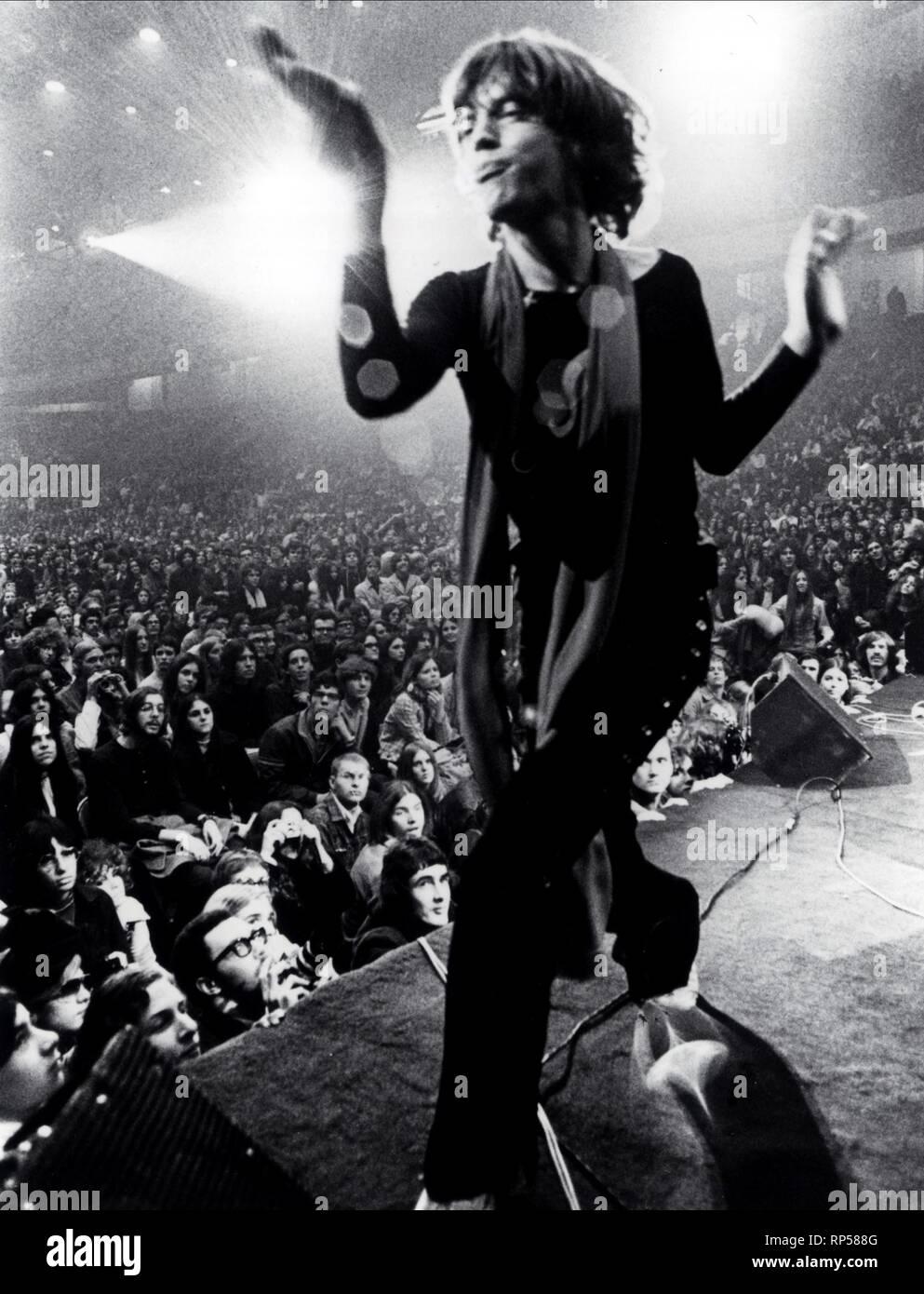 MICK JAGGER, GIMME SHELTER, 1970 - Stock Image