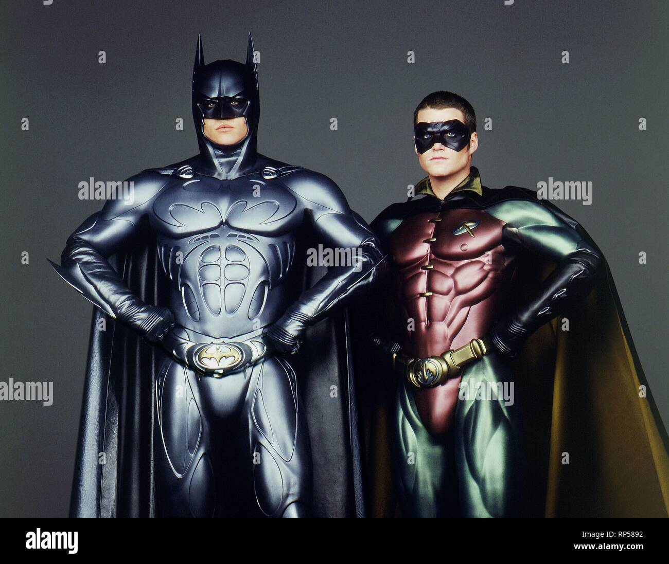 Kilmer O Donnell Batman Forever 1995 Stock Photo Alamy