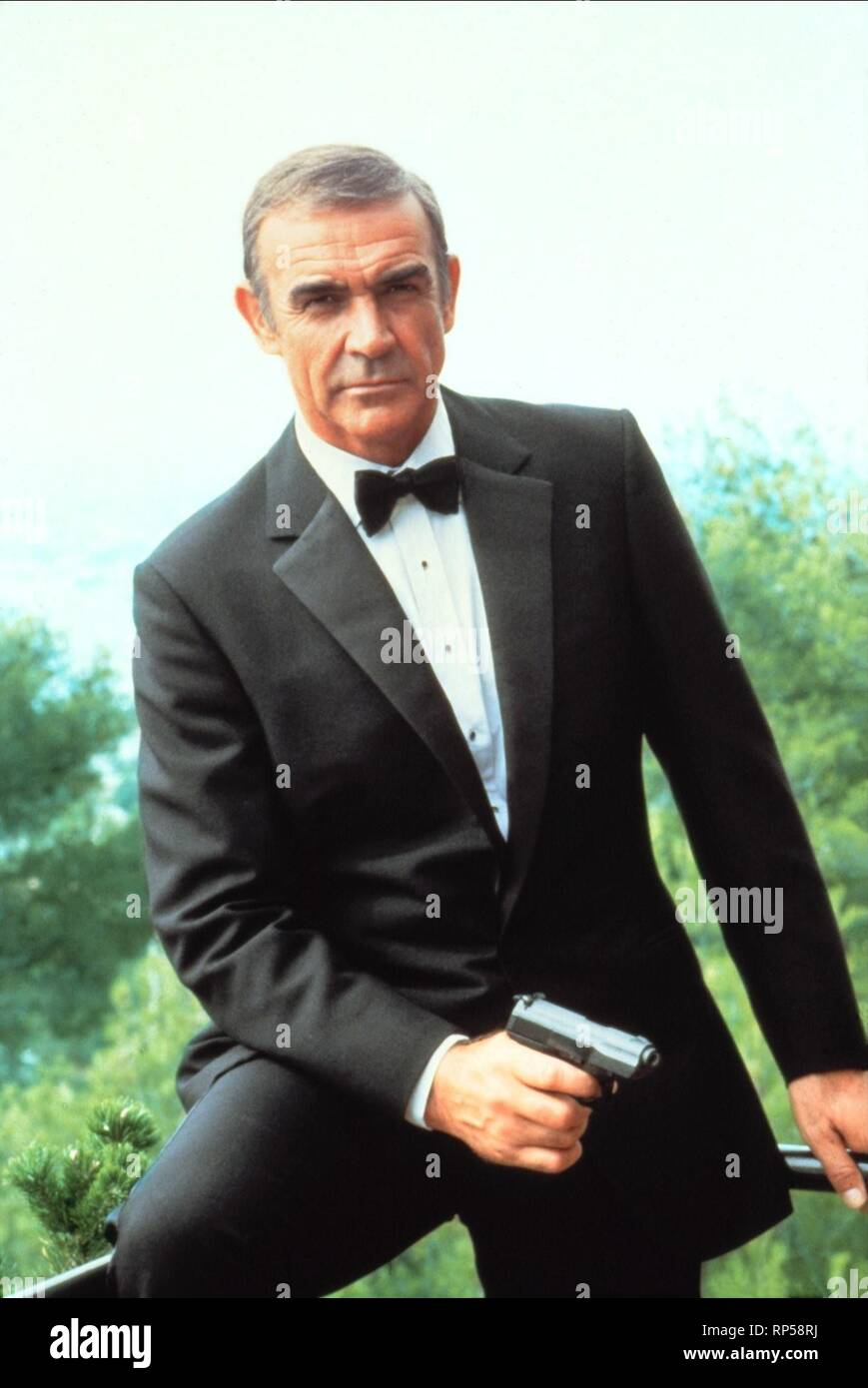 Never Say Never Again 1983 Sean Connery High Resolution Stock Photography And Images Alamy