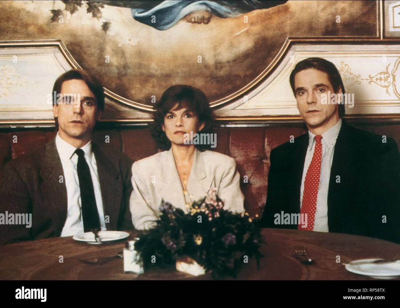 DEAD RINGERS, JEREMY IRONS, GENEVIEVE BUJOLD , JEREMY IRONS, 2012 Stock Photo