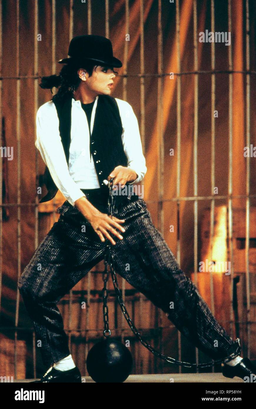 MICHAEL JACKSON, MOONWALKER, 1988 Stock Photo