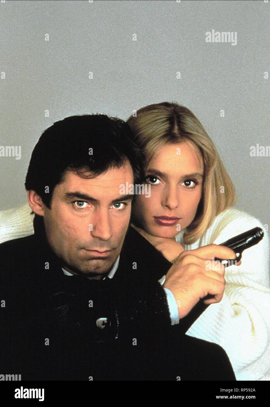 DALTON,D'ABO,  THE LIVING DAYLIGHTS, 1987 - Stock Image