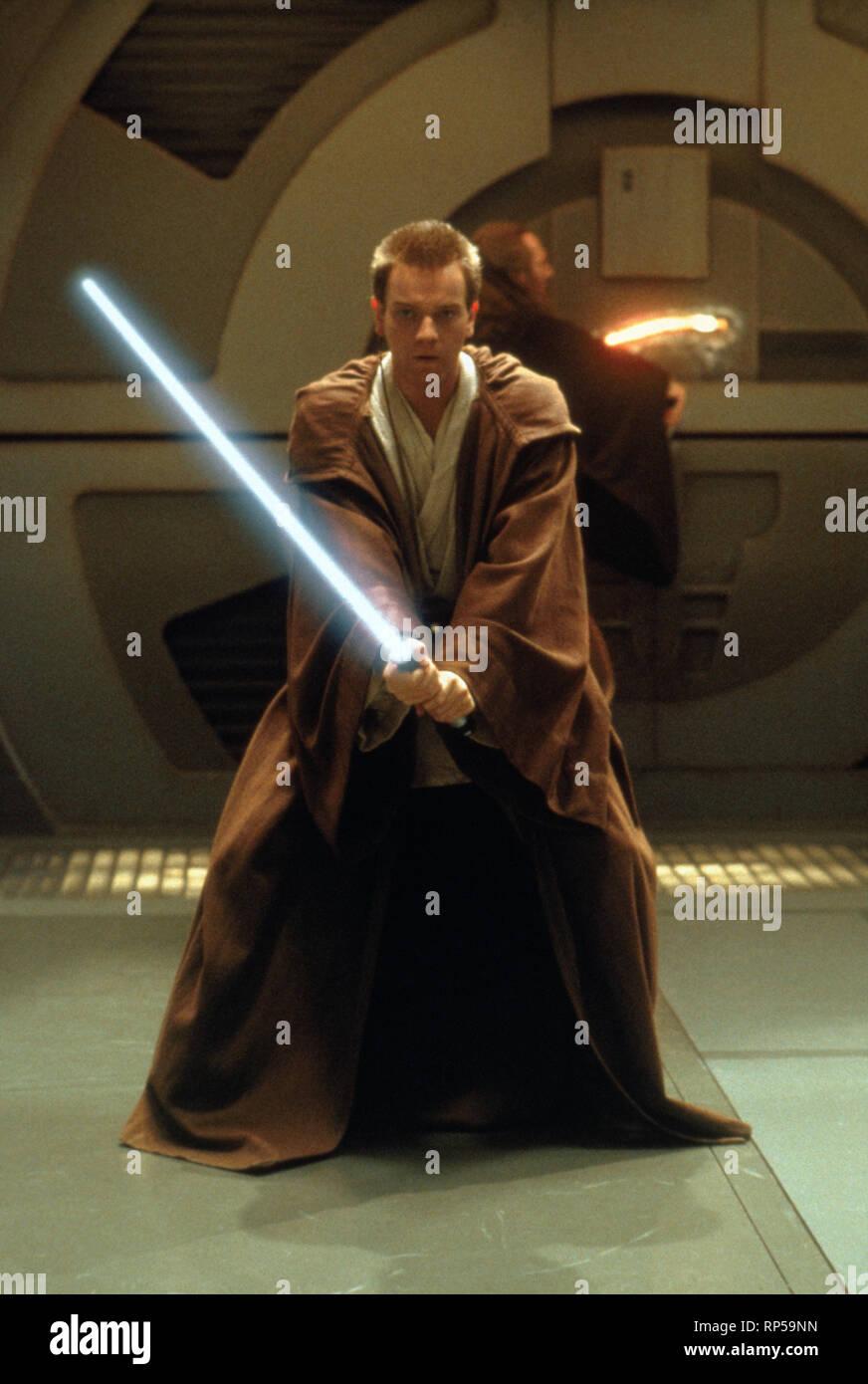 Ewan Mcgregor Star Wars Episode I The Phantom Menace 1999 Stock Photo Alamy