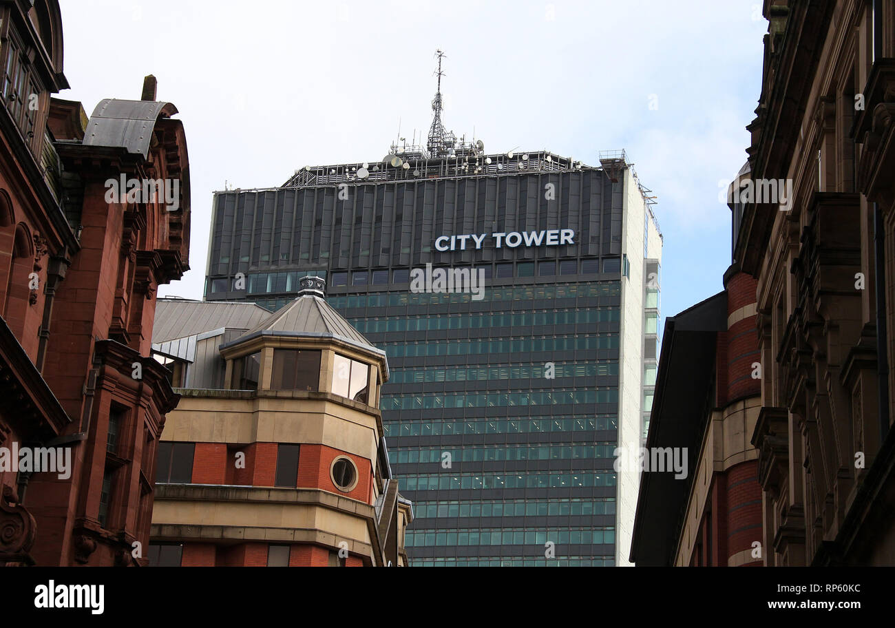 Manchester City Centre - Stock Image
