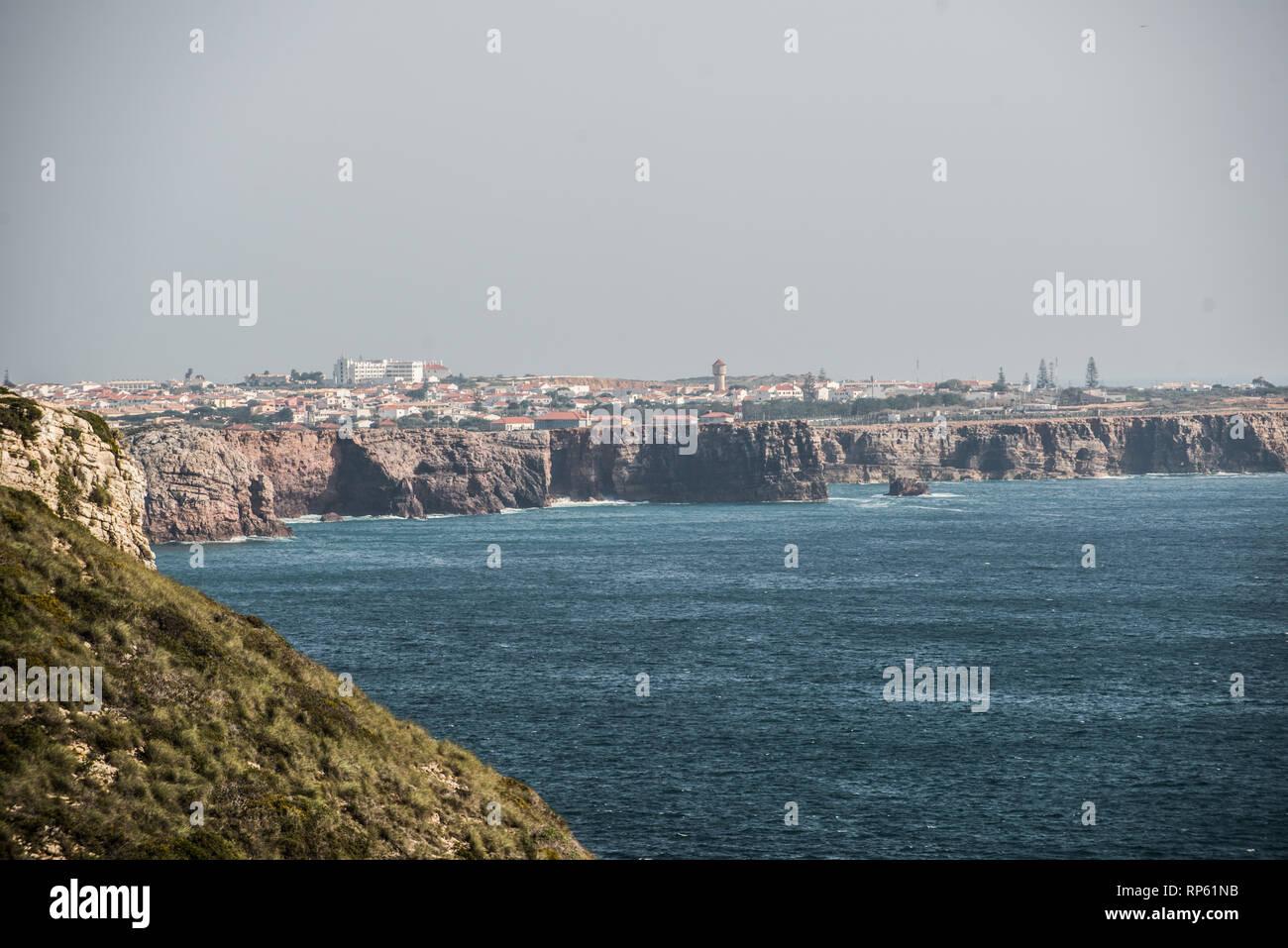 Sagres, Algarve, Portugal, February 2019 - Stock Image