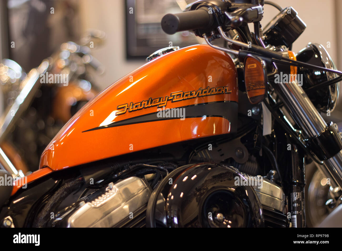 Harley Davidson Sportster High Resolution Stock Photography And Images Alamy