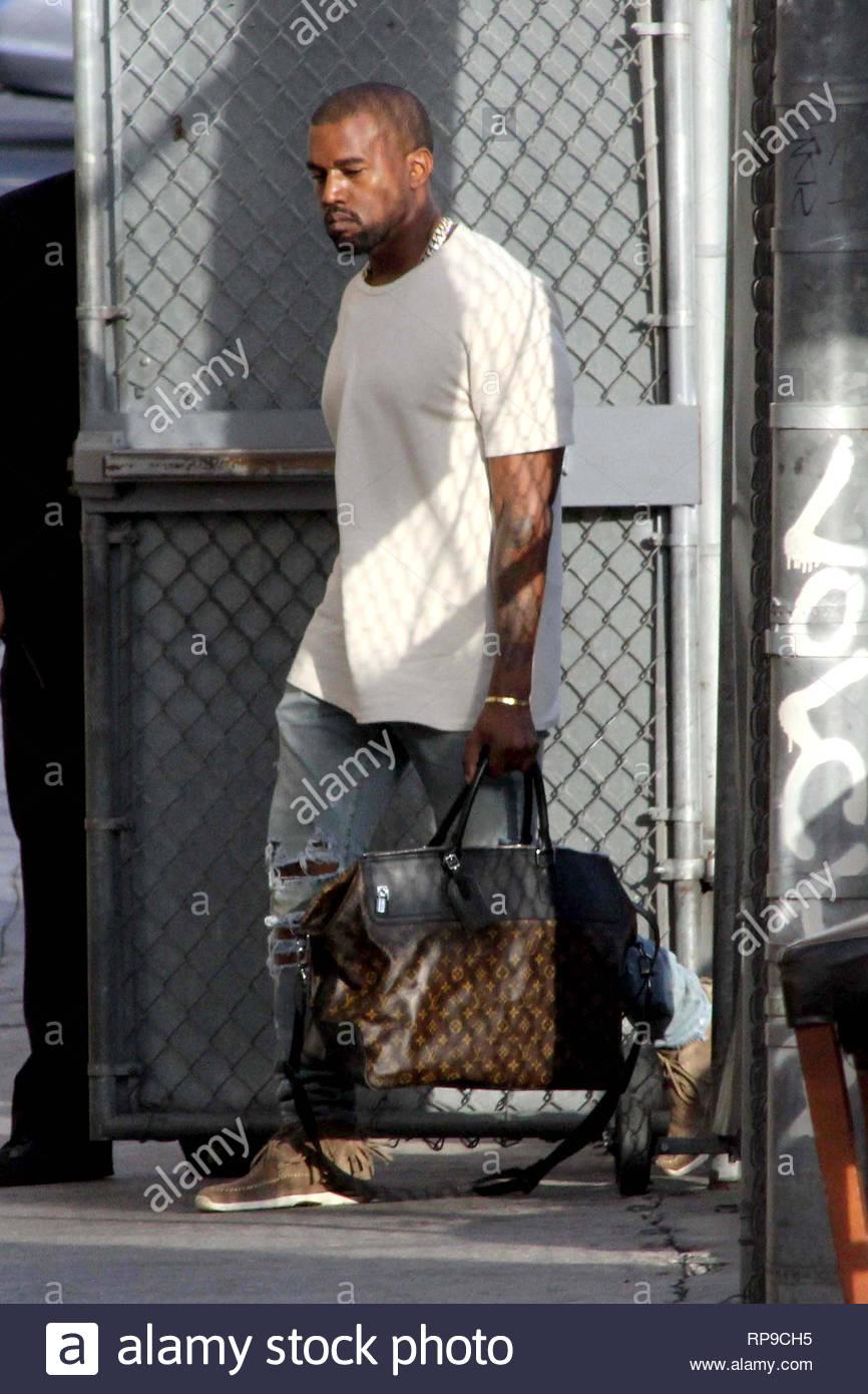 95cbd05c5d71 ... Kim Kardashian arrives at Jimmy Kimmel s studio with their baby North  West