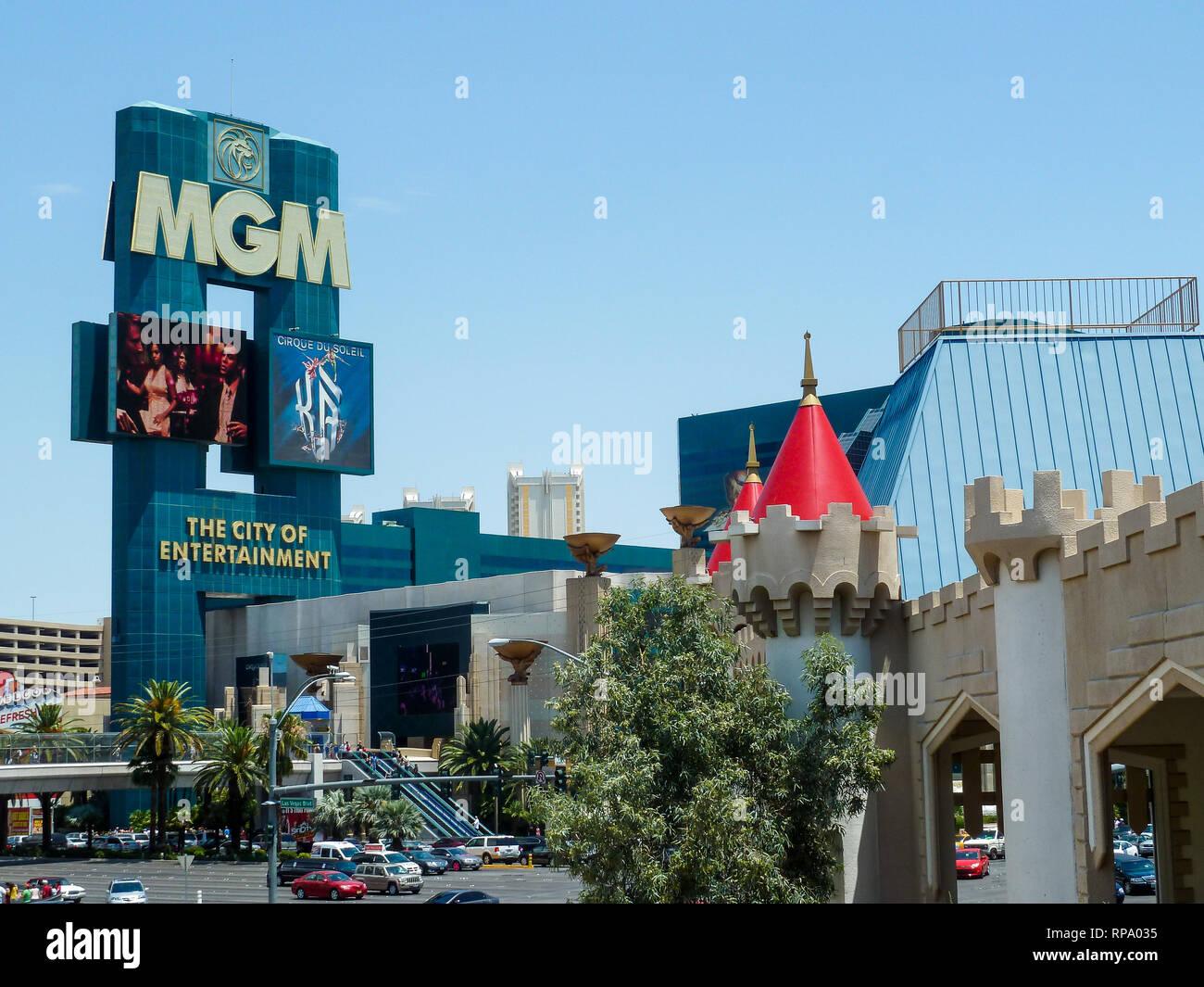 Las Vegas, Nevada, USA, - Stock Image