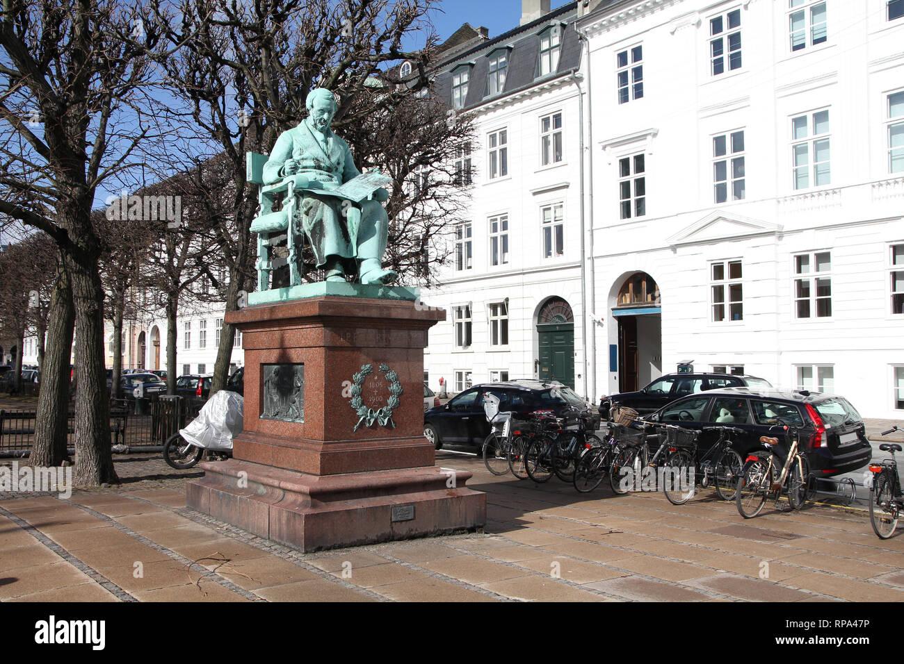 Copenhagen, Denmark - famous Danish composer, Johan Peter Emilius ...